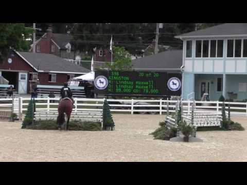 Video of KINGSTON ridden by LINDSAY MAXWELL from Net!