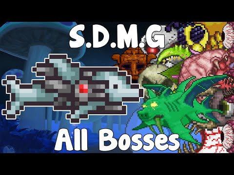 S.D.M.G VS ALL BOSSES!? - The Dolphin From 1.3 CHALLENGE! - Weapon VS Bosses