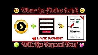 Winzo Gold Refer Script 2019 | Winzo Gold Mod APK 2019 | Winzo Gold Unlimited Refer Trick