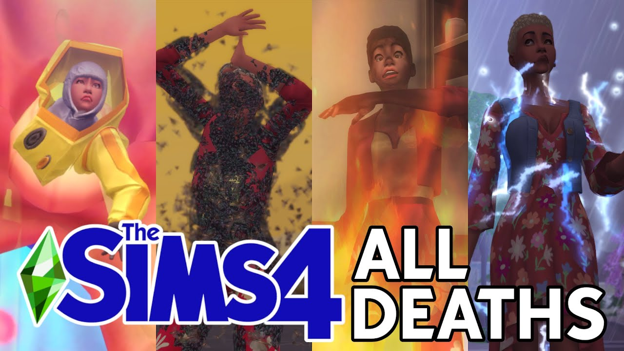 Download The Sims 4: ALL DEATHS! - Guide (2021)