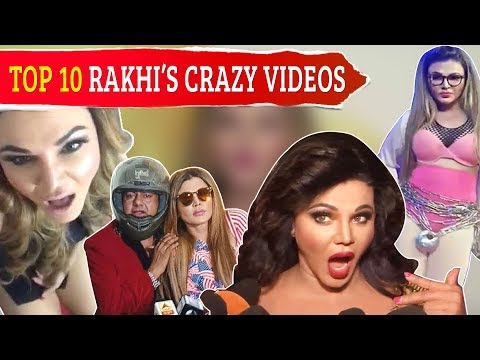 Rakhi Sawant HILARIOUS And Most Funny Videos Of 2018 | Top 10 | 2018 Year Ender