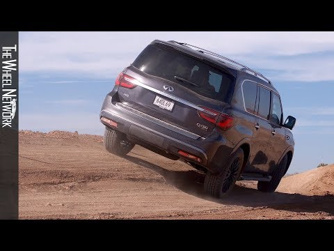 2020 Infiniti QX80 Off-Road Drive Course