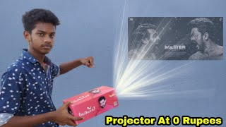 How to Make a Projector | Projector செய்வது எப்படி ?