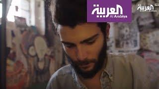 أنا من سوريا : غرفة رسام سوري في سجن بني في القرن التاسع عشر