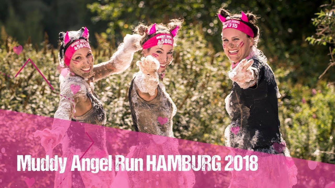 Muddy Angel Run Hamburg 2018 Youtube