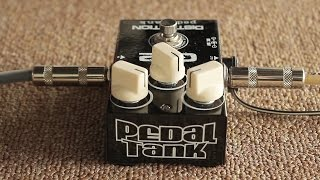 Pedal Tank G2 Distortion feat. Mojo Hand Fx Dewdrop