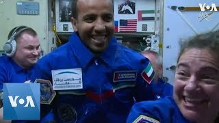 First United Arab Emirates Astronaut Arrives at International Space Station