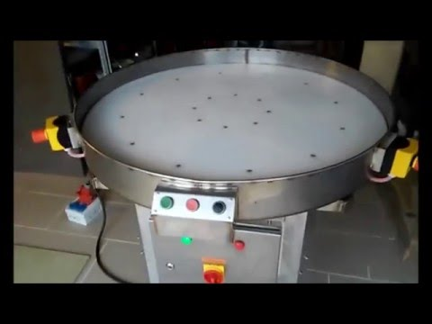 Accumulator rotary table, accumulation table, packing line accumulator, receive unit, D1000