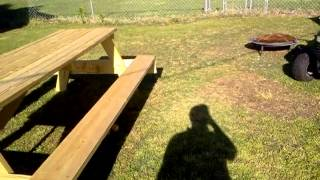 Huge Picnic Table!