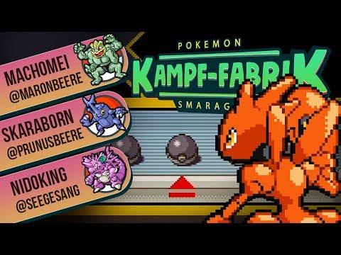 ★Ich muss nichtmal hinsehen -  Pokemon Smaragd Kampffabrik [German/Deutsch]