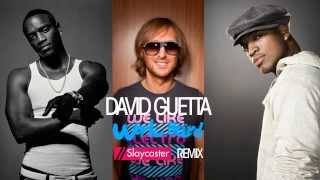 David Guetta  Play Hard (ft. Akon & Ne-Yo) [Slaycaster Remix]