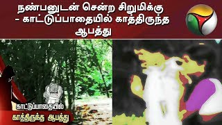 நண்பனுடன் சென்ற சிறுமிக்கு - காட்டுப்பாதையில் காத்திருந்த ஆபத்து   Madurai