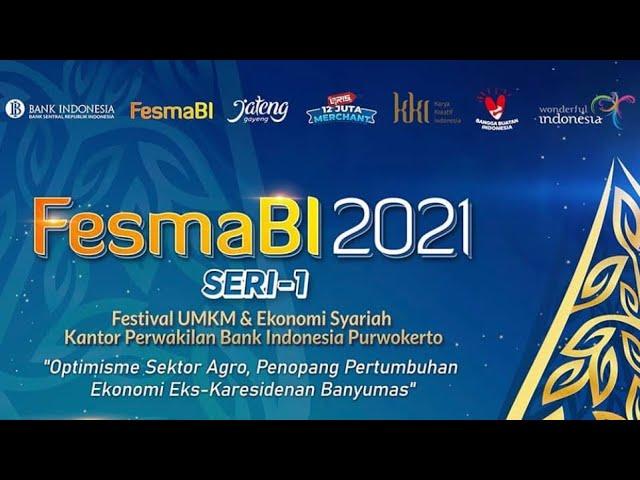 PERSIAPAN EVENT FESMABI 2021 Seri-1 KANTOR PERWAKILAN BANK INDONESIA PURWOKERTO