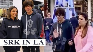 Shah Rukh Khan takes a stroll in Los Angeles, video hits internet