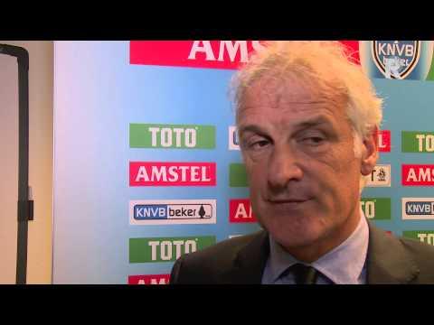 Fred Rutten na afloop van Go Ahead Eagles - Feyenoord