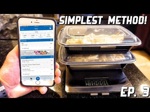 How To Weigh, Track, & Log Your Food | Cutting With Carb Cycling Ep. 3