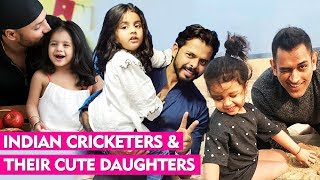 5 Indian Cricketers With Their Cute Daughters | Sreesanth, Harbhajan Singh, MS Dhoni