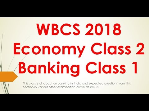 Economy Class 2 Banking Part 1