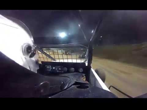 Go Pro Video - Placerville Speedway - Wingless sprint Heat race 4/15/17