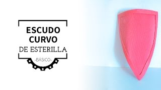 Escudo Curvo de Esterilla (Básico) | Curved Foam Shield (Basic)