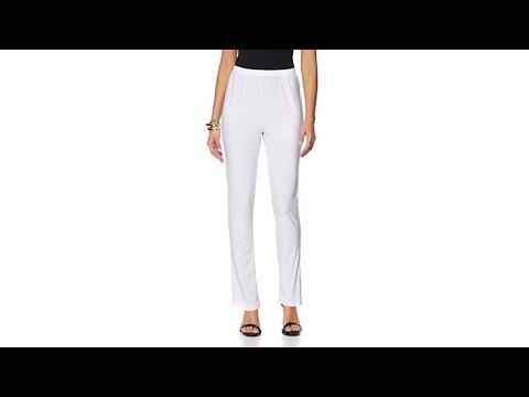 3578c24f Slinky Brand 2pk Solid Knit Skinny Pants