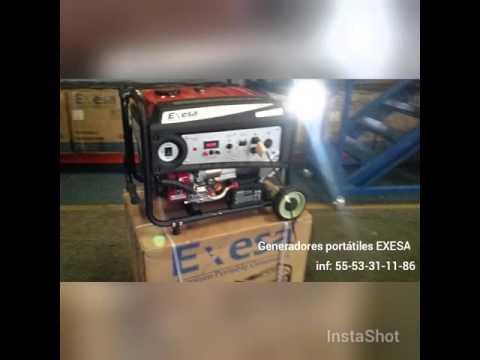 Exesa Generadores De Energía Portátiles A Gasolina Plantas De Luz México thumbnail