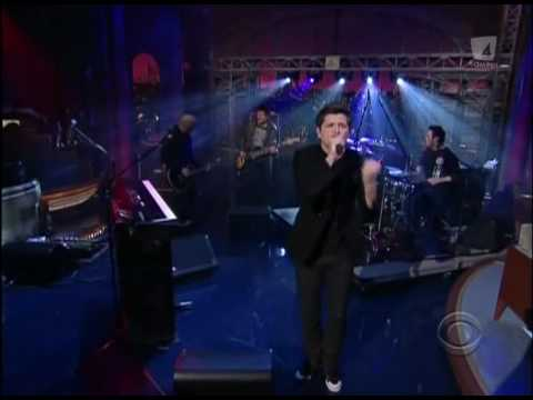 The Script- Breakeven ( Live at  Letterman 2009)