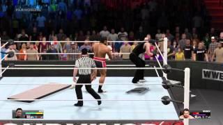 WWE 2K15 - Lets Break the Ring!!