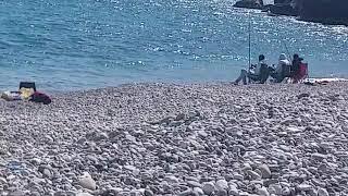 Массовая рыбалка и отдых в Анталии
