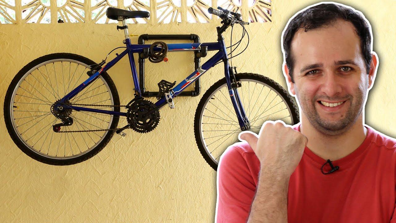 8e777c326 Como fazer um pendurador de bicicletas de PVC - YouTube