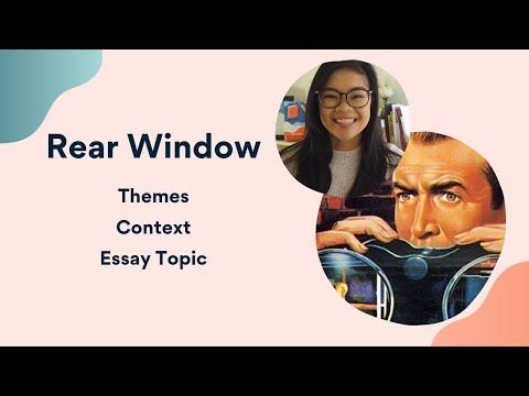 Rear Window Intro | Themes, Essay Topics, The 1950s