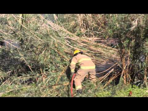 Brush Fire Wellington St Georges May 4 2012