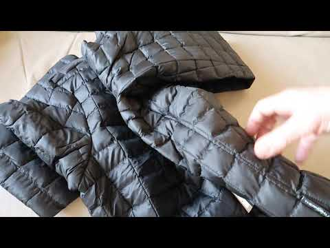 The North Face Thermoball Jacket Unboxing Folding Into Its Own Pocket