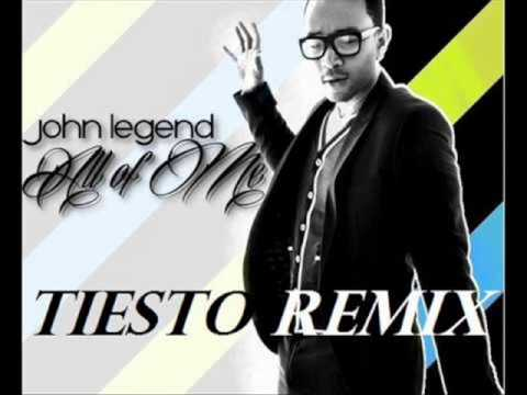 John Legend (Tiësto REMIX) - ALL OF ME - Máxima Fm Radio EDIT
