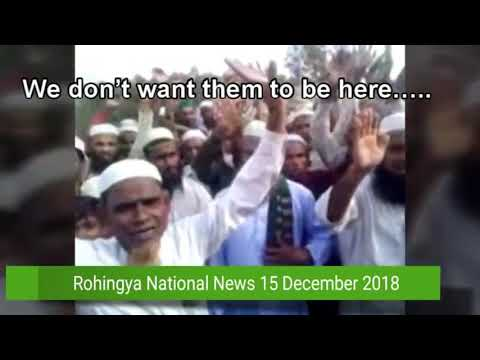 Speech of Muslim to expel Rohingya Christian out of Bangladesh refugee camps and to torture them