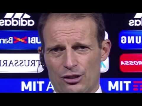 Intervista ad Allegri post Juve Roma 1 0 [PREMIUM+SKY] PERCHE ERI INFURIATO SUL FINALE? 18