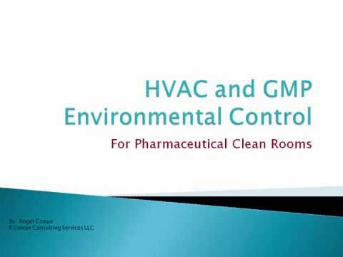 HVAC and GMP Enviorment Control for Pharmaceutical clean rooms