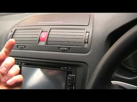 Chinese Noname Double Din Head Unit In An Octavia Youtube
