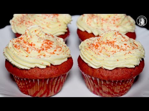 Red Velvet Cupcakes Recipe Without Oven - How To Make Red Velvet Cupcakes With Cream Cheese Icing