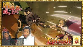 NAOFUMI VS MOTOYASU!! The Rising Of The Shield Hero - Episode 4 | Reaction