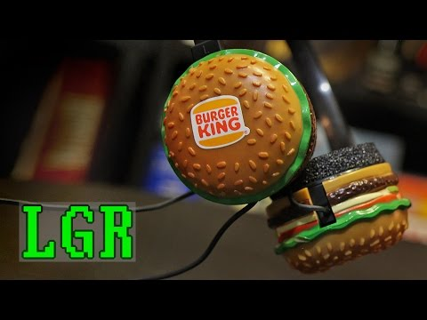 LGR - 1983 Burger King Headphones by Radio Shack