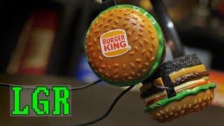 LGR - 1983 Burger King Headphones by Radio Shack
