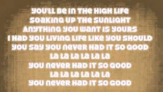 "B.o.B  "" So Good"" (oficial) lyrics Mp3"
