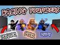 RACING OTHER PARKOUR YOUTUBERS! (PurrkourCat, PrazerTixa & zTyph!)