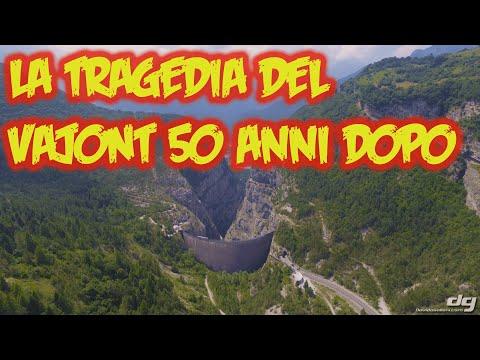 Il disastro del Vajont, mezzo secolo dopo la tragedia, ripreso dal Drone