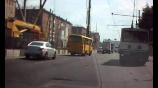 Обрыв проводов троллейбуса