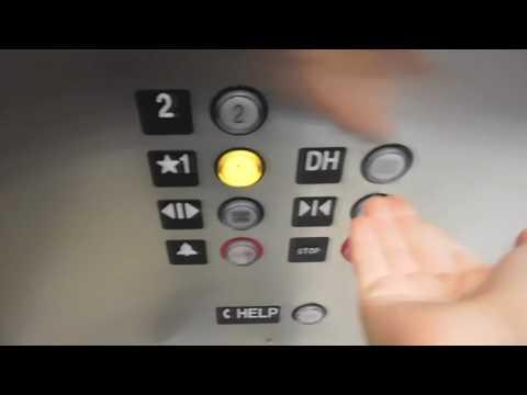 BRAND NEW Innovated Kone Eco Space Elevator #2 @ The Marriott Marquis San Diego Marina