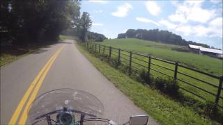 A TWO MINUTE RIDE IN BEAUTIFUL GEORGIA MOUNTIAN FARMLAND