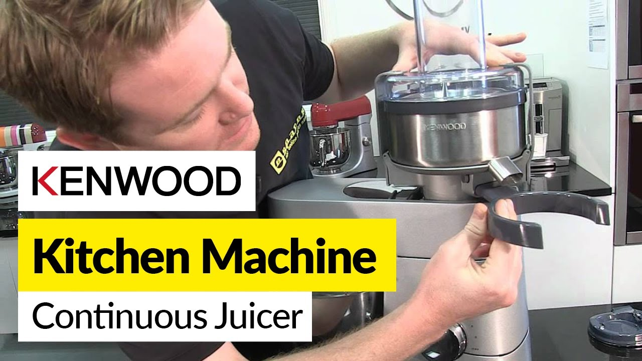 How to use a continuous juicer kenwood youtube asfbconference2016 Images