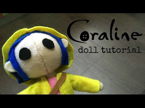 Coraline Doll Tutorial Youtube